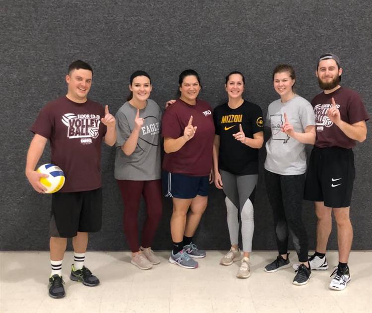 Co Ed Volleyball Champions